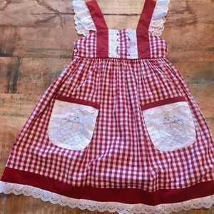 Other - Small Shop | Apple Dress, Girl's Size 6